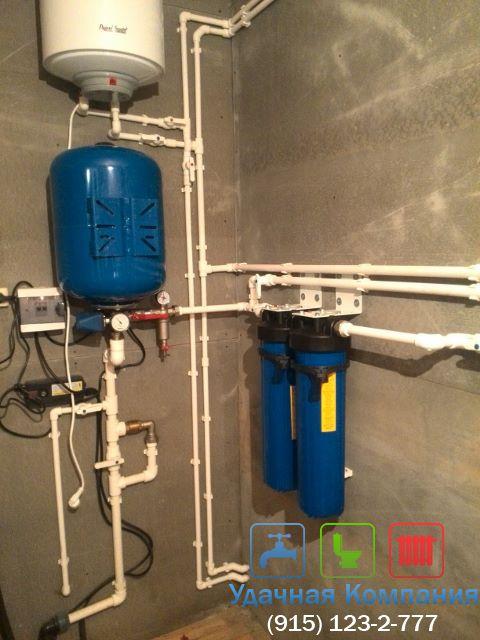Проведение водопровода из скважины своими руками
